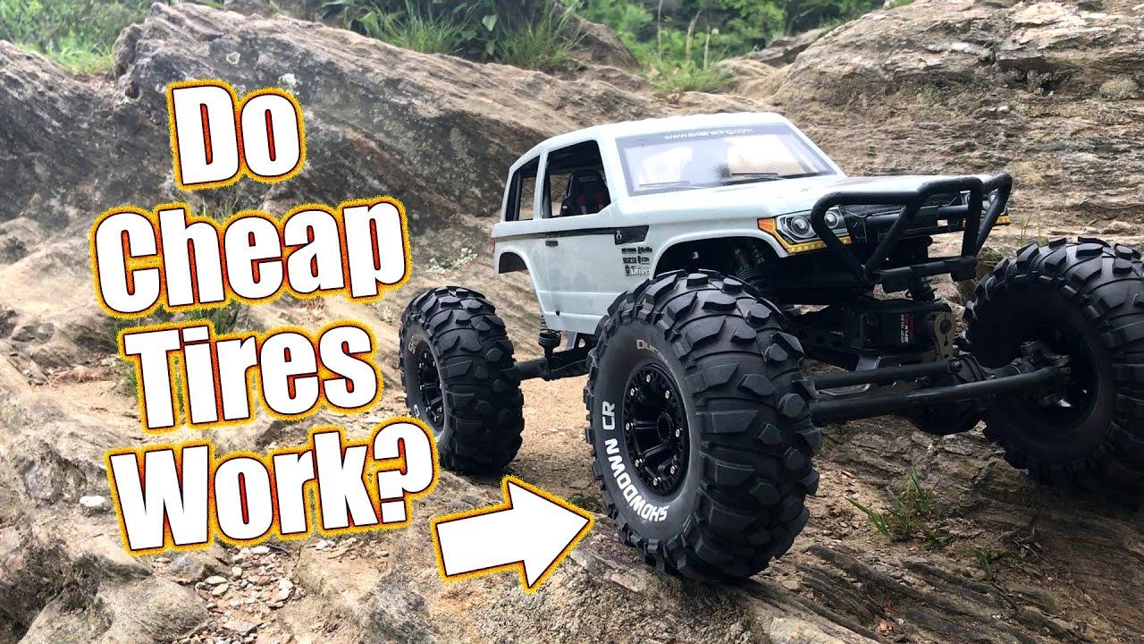 Cheap Crawler Tires With Grip Duratrax Showdown Cr Tires Youtube