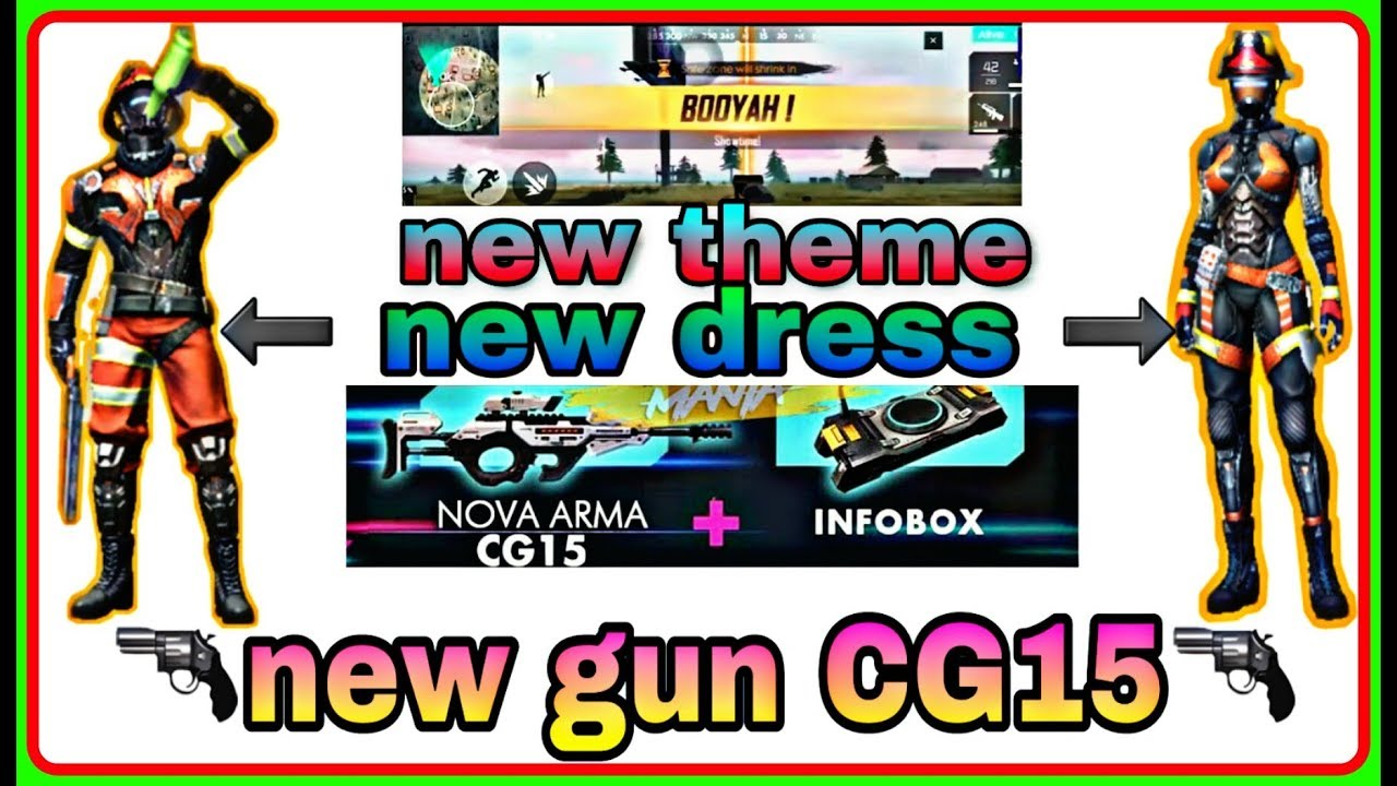 Free Fire new gun || new dress || new theme || all are new in may