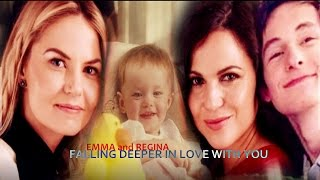 Emma & Regina (SwanMills Family) || Falling deeper in love with you