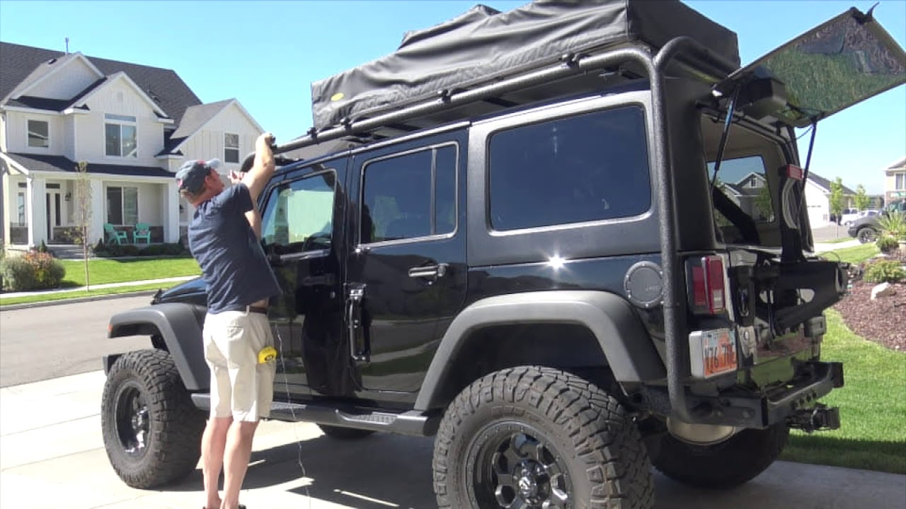 jeep roof rack trailfx j029t or
