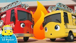 Go Buster - Fire Truck Hero Song +MORE! | Little Baby Bum: Nursery Rhymes & Kids Songs | ABCs & 123s