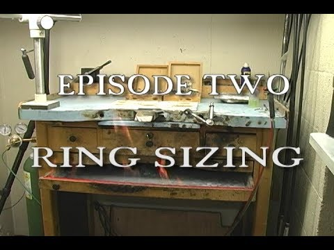JEWELRY REPAIR THE BURNING BENCH EPISODE TWO SIZE DOWN