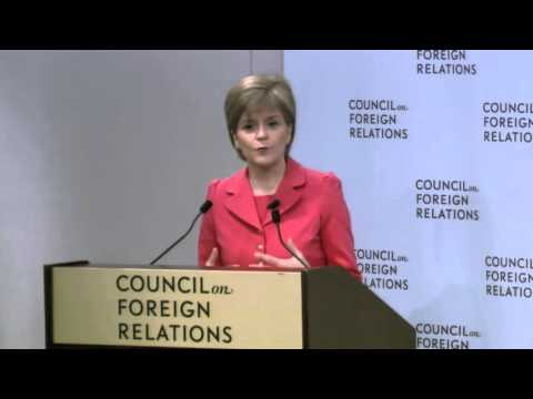 A Conversation With Nicola Sturgeon