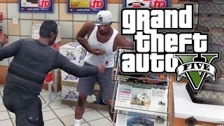 BOUNTY HUNTERS #45 - SHANKED IN THE SHOP! (GTA V Online)
