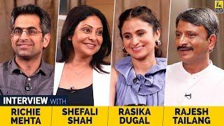 Shefali Shah, Rasika Dugal, Rajesh Tailang & Richie Mehta | Delhi Crime | Netflix | Anupama