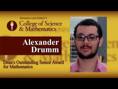 2017 Dean's Outstanding Senior Award: Mathematics
