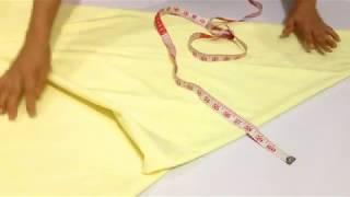 হিজাব কাটার সহজ পদ্ধতি || Easy Way Of Hijab Cutting