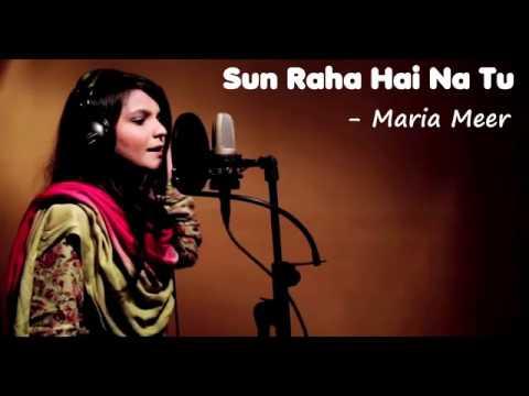 Sun Raha Hai Na Tu   Maria Meer Cover Song   YouTube
