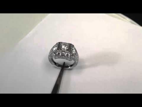 Custom Engagement Ring, greenville SC