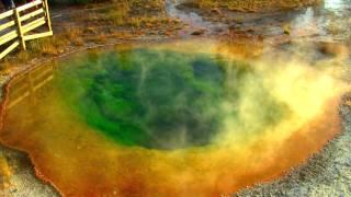 Morning Glory Pool, Yellowstone National Park - HD