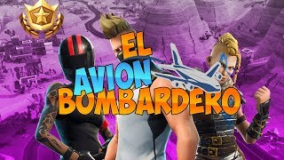 EL AVIÓN BOMBARDERO | epic moments fortnite | LoloHermo