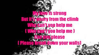 Melanie Fiona - Break down these walls (Lyrics On screen)