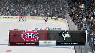 NHL 18 ~ Expansion Draft Franchise (Wisconsin Huskies - Game #5)