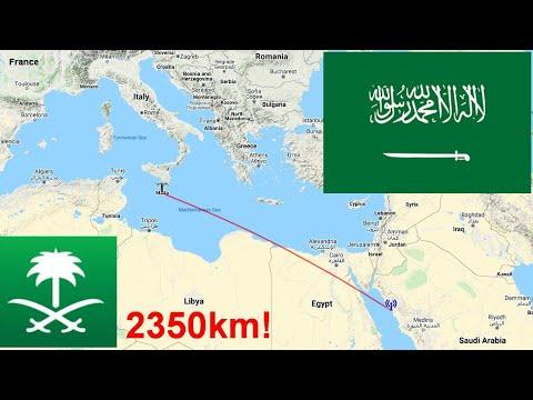 SAUDI ARABIA via Sporadic E on MALTA!