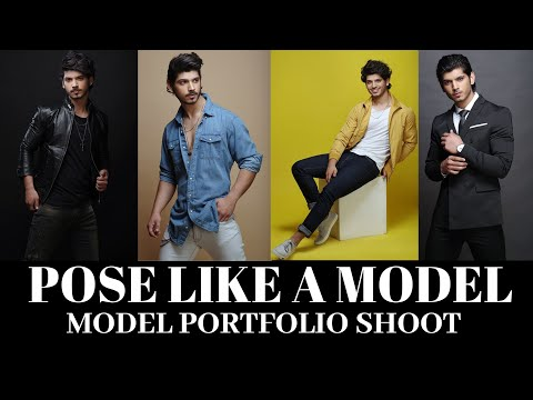 Indian Male Model Photoshoot Poses | Modelling Tips | Modeling Poses For Boys | Portfolio Shoot