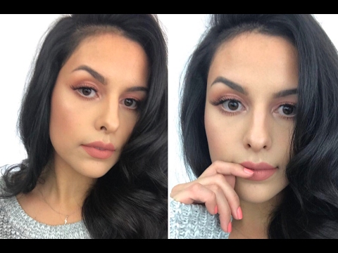 Soft + Simple  Peach Makeup Tutorial | Rose Water Setting Spray