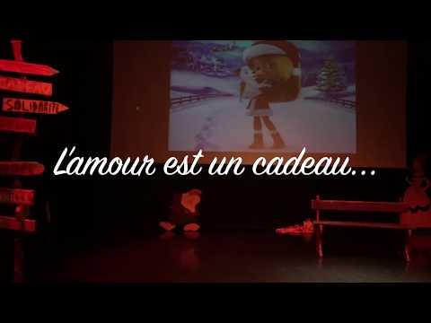 Cover L'amour est un cadeau 🎁 ~ La reine des neiges. Duo Marine et Candice