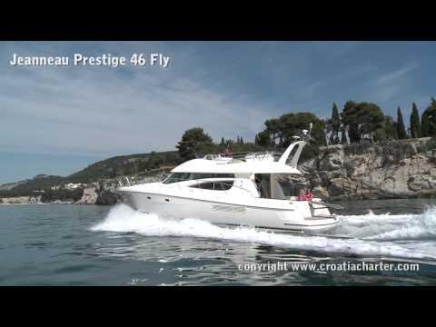 Jeanneau prestige 46 fly - motor yacht for charter in Croatia