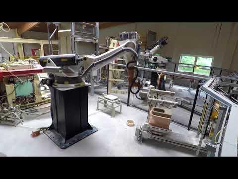 LAUFEN: Produktion der Badkeramik
