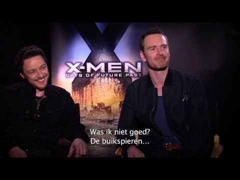 X-Men Movies: X Men Interview Magneto & Professor X (Facebook)