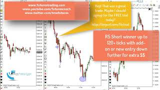 101017 -- Daily Market Review ES CL GC NQ - Live Futures Trading Call Room