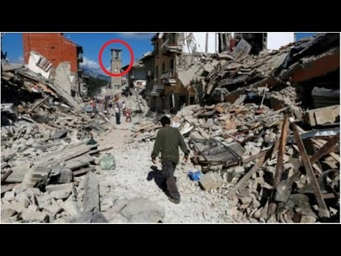 Earthquake in Italy today || Video from cameras and earthquake destruction