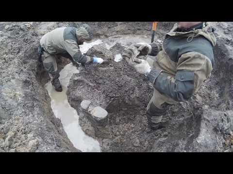 Подъем солдат в урочище Черный Ручей\ The rise of the soldiers in the tract Black Creek