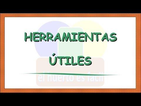 Herramientas para el huerto herramientas tiles youtube for Herramientas que se utilizan en un vivero