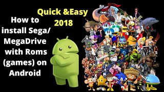 How to install Sega Genesis/MegaDrive on Android 2018