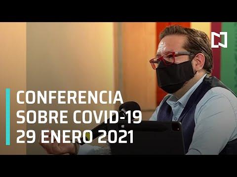 Conferencia Covid-19 en México - 29 enero 2021