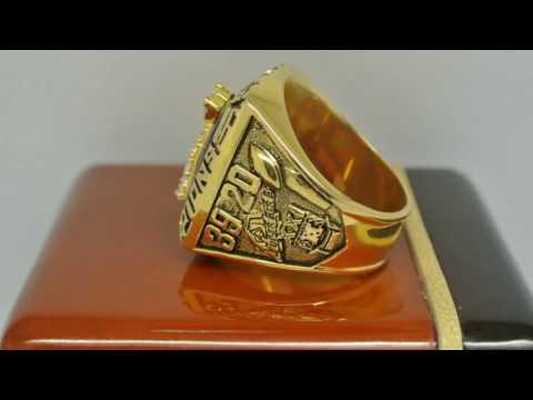 New York Giants 1986 NFL Super Bowl XXI Championship Ring