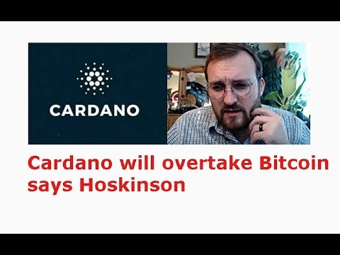 Cardano(ADA) To Flip Bitcoin And Take #1 By The End Of 2020s Says Hoskinson