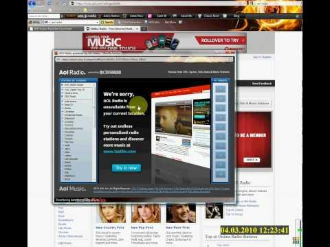 Free Music AOL Radio