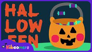 Trick or Treat Song for Kids | Kids Halloween Songs | The Kiboomers |  Halloween songs for kids