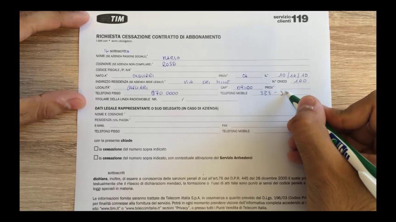 Servizio Elettrico Nazionale Voltura: Modulo e Contatti ...