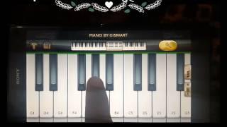 Easy Learn Udja Kale Kawa Tere with Lyrics on Mobile Piano,Harmonium