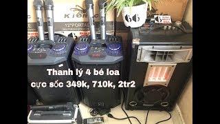 Thanh lý 4 bé loa 349k, 710k, 2tr2 | Loa Kéo TISO - BASONBEATBOX.com