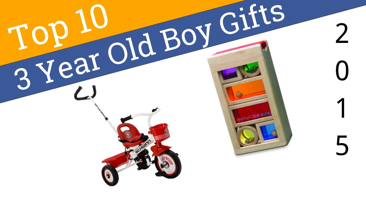 10 Best 3 Year Old Boy Gifts 2015