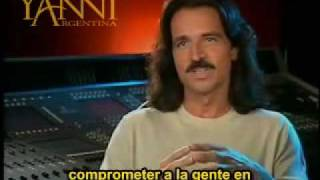 Yanni Interview Part 2- Spanish subtitled