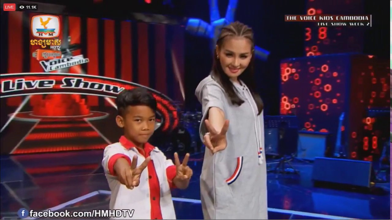 the voice kids live