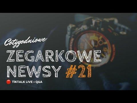 🔴 ZEGARKOWE NEWSY na żywo – odc. 21   TIKTALK LIVE