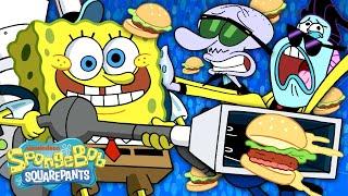 SpongeBob Sells Concert Krabby Patties  New Episode &quotKrusty Koncessionaires&quot