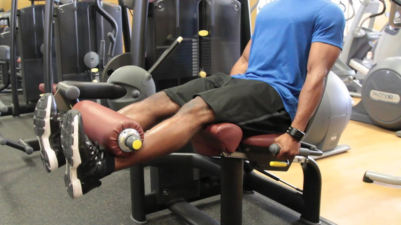 leg machine at