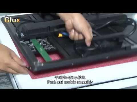 Glux IDsn Series Rental LED Display Screen Module Change Method