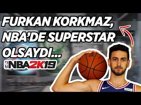 FURKAN KORKMAZ, NBA'DE SUPERSTAR OLSAYDI NE OLURDU?... Türkçe NBA 2K19 MyLEAGUE thumbnail