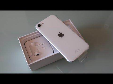 Apple iPhone SE 2020 64GB White Unboxing