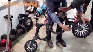 Выставка Gadget Fair 2017 Обзор Гироскутеры Электровелосипеды Электросамокаты Сигвеи Voltreco.ru(, 2017-04-18T02:59:51.000Z)