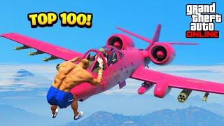 TOP 100 FUNNIEST GTA 5 FAILS! (Best GTA 5 Funny Moments)