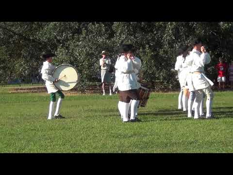 Fife and Drum Corp March at Colonial Williamsburg Sept 13, 2017
