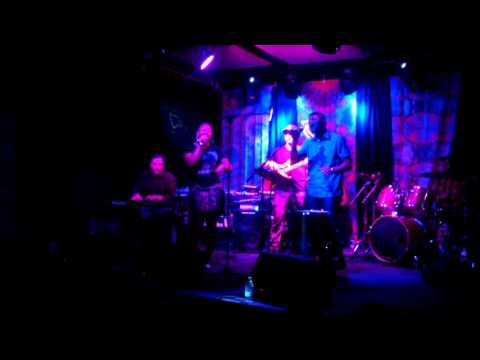 The marque players at funk n waffles downtown 10/6/16